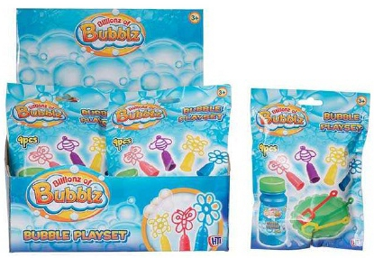 Набор для пускания мыльных пузырей HTI Bubblz hti набор для пускания мыльных пузырей с бутылочкой hti