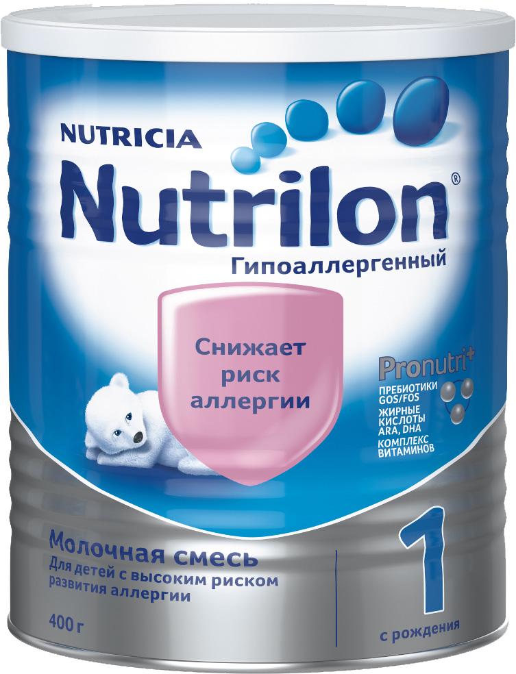 Молочная смесь Nutricia Nutrilon (Nutricia) 1 гипоаллергенный (c рождения) 400 г молочная смесь nutricia nutrilon nutricia 1 premium c рождения 400 г