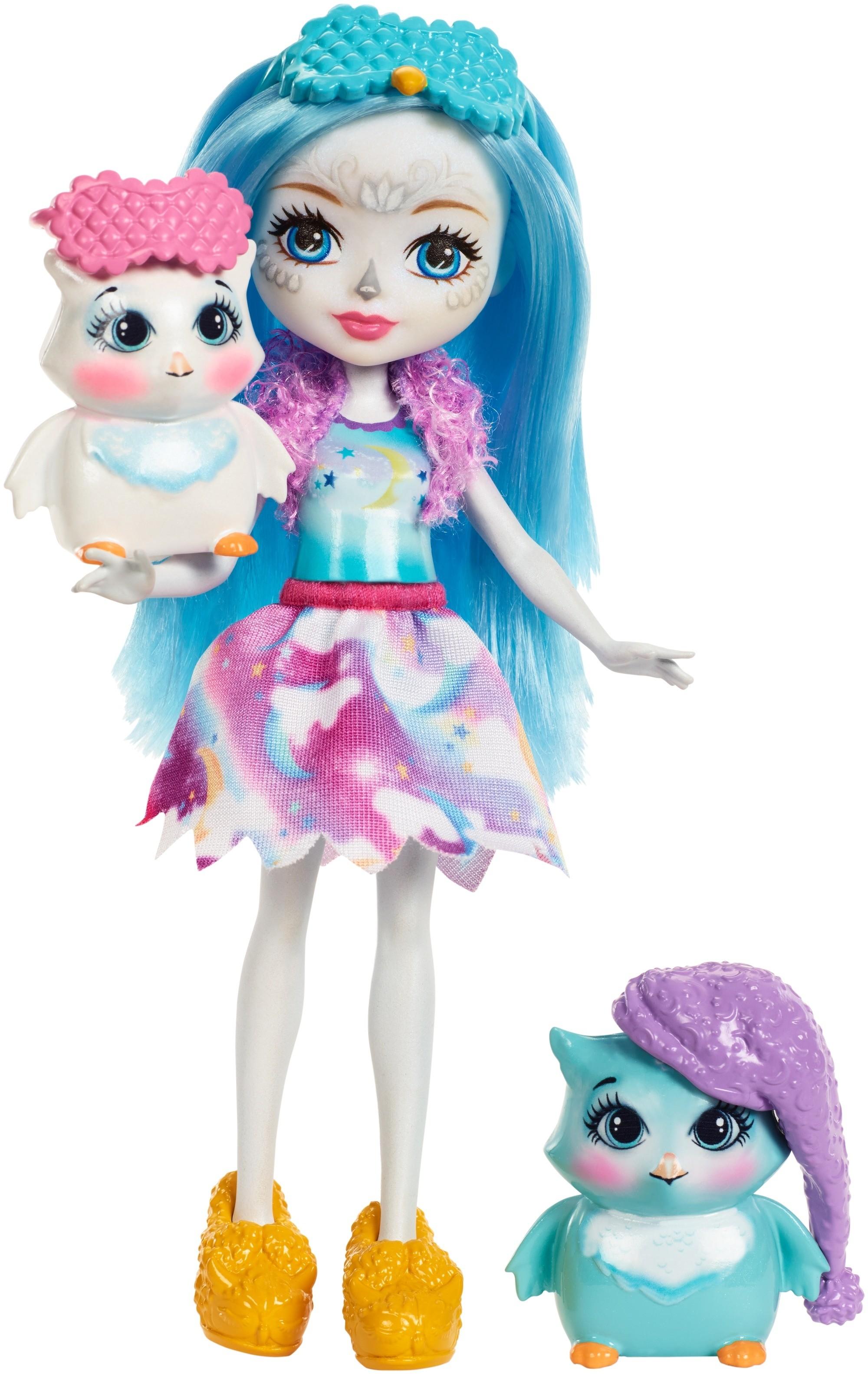 Фото - Игровой набор Mattel Кукла со зверюшкой и аксессуарами enchantimals игровой набор кукла со зверюшкой fnh22 fjj21