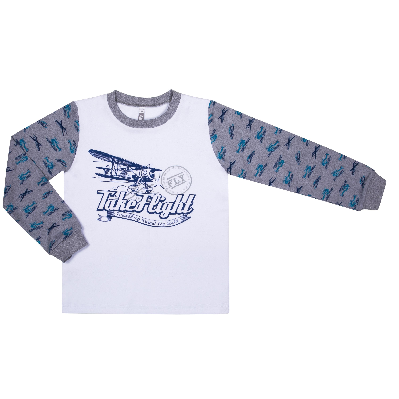 Купить Пижамы, Пижама для мальчика Barkito «Сновидения SS18», серая с рисунком, Россия, серый с рисунком, Мужской