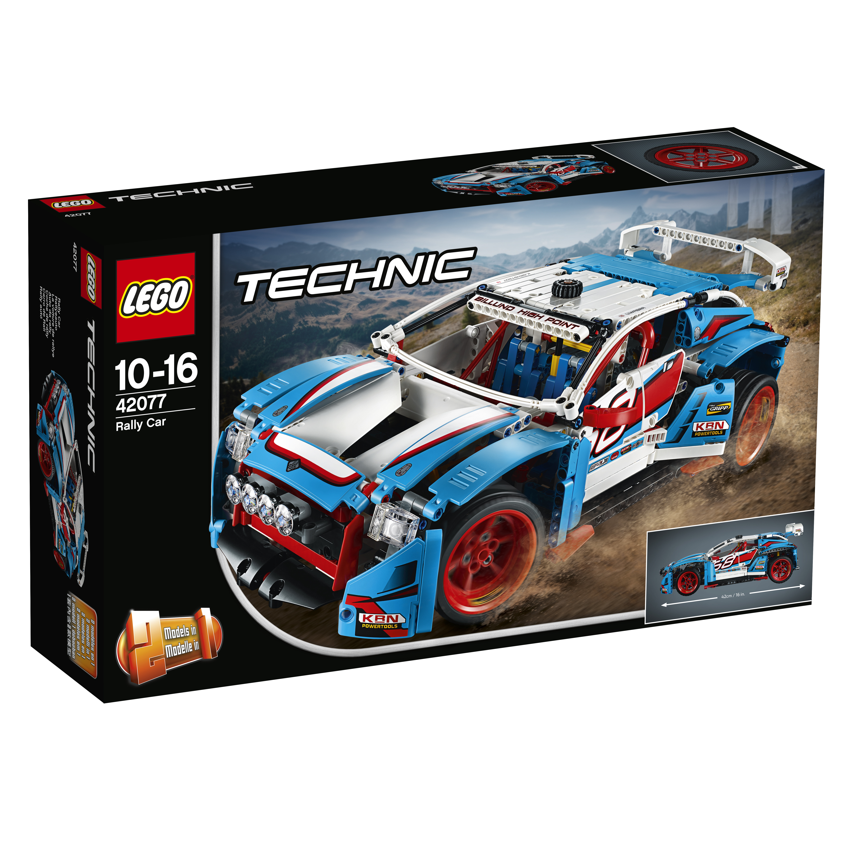 Конструктор LEGO Technic 42077 Гоночный автомобиль конструктор lego technic гоночный автомобиль 42077