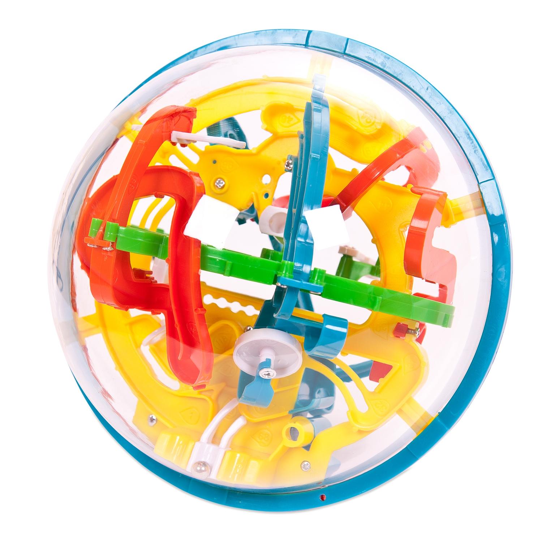 Развивающие игрушки ABtoys Развивающая игра ABtoys «Шар-3D интеллектуальный» 118 барьеров abtoys интерактивная игра abtoys озорная колбаса