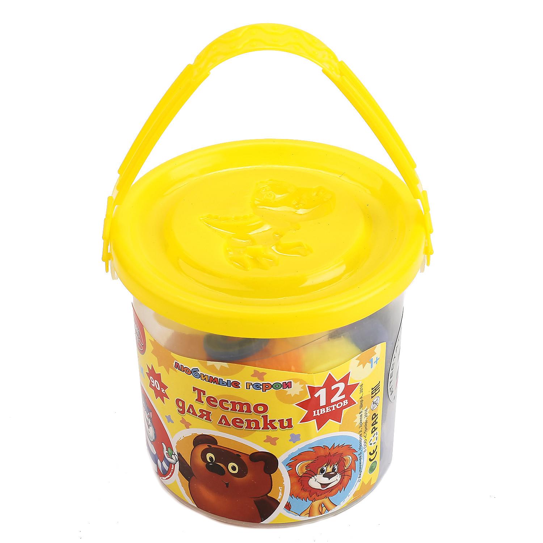 Набор MultiArt Тесто для лепки и формочки набор для лепки color puppy веселая пекарня тесто 250 г аксессуары 631027