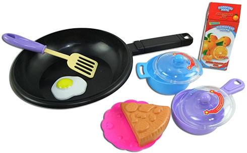 Игровые наборы Профессия ABtoys Игровой набор ABtoys «Помогаю Маме» с посудой и продуктами 8 пр. серьги telle quelle серьги