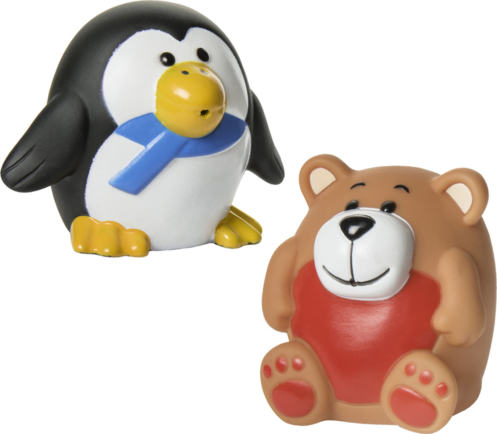 Игрушки для ванны Курносики Зоопарк игрушка для ванны курносики пингвин