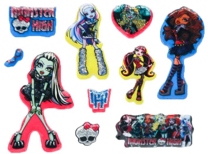 Украшения Monster High Monster High брелок monster high череп