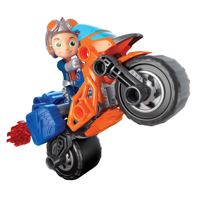 Игровой набор Rusty Rivets Построй мотоцикл Расти игровой набор rusty rivets супер инструмент и очки расти