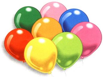 цена на Набор воздушных шаров Everts цветные 25 шт.