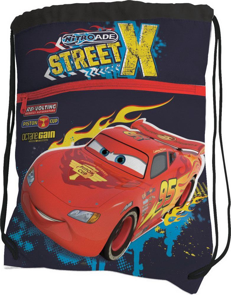 Рюкзаки и мешки для сменки Cars Для обуви cars сумка рюкзак для обуви цвет голубой красный crcb mt1 883