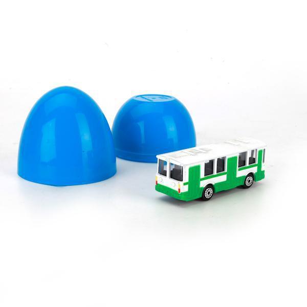 Яйцо с машинкой Технопарк Городской транспорт