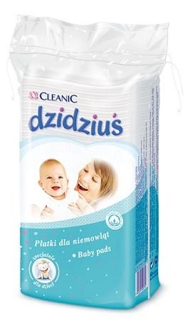 Ватные диски Cleanic для младенцев 60 шт.