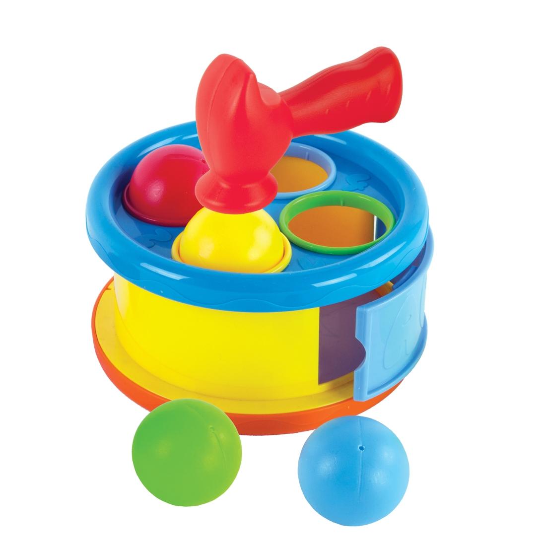 Развивающая игрушка Наша игрушка Бей в барабан