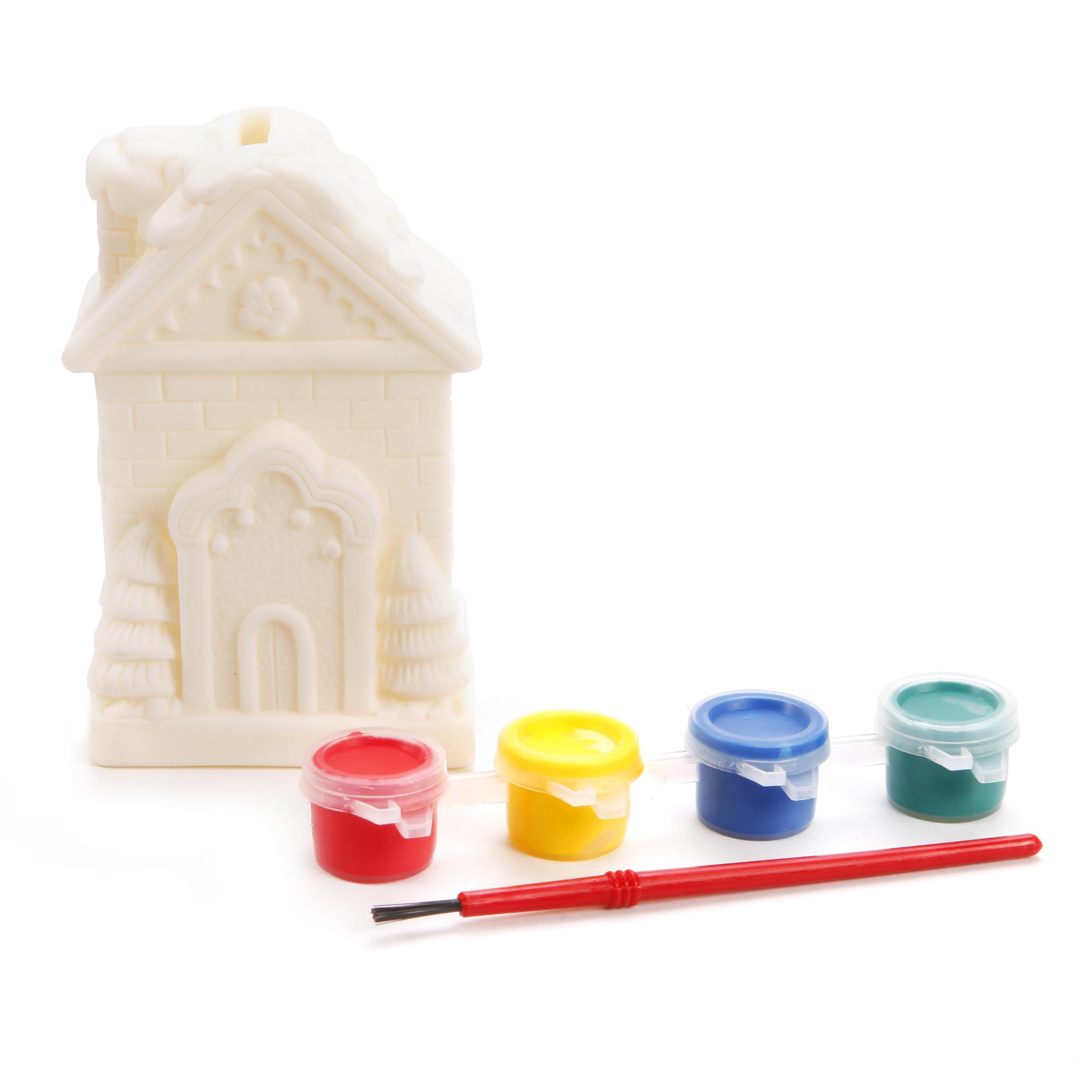Наборы для творчества Color Puppy Роспись копилки. Домик наборы для творчества color puppy набор для творчества гравюра цветная