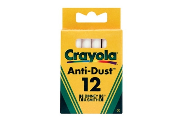 Канцелярия Crayola 12 шт. неосып. белые футболка print bar occult