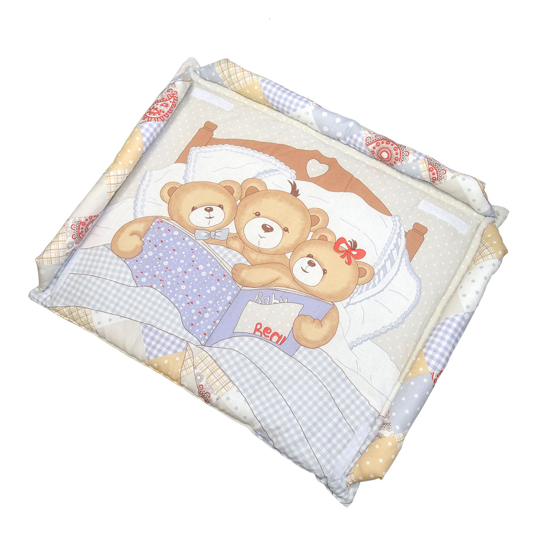 Матрас для пеленания L'Abeille Мишки под одеялом