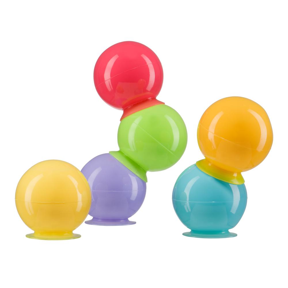 Набор игрушек для купания Happy baby IQ-Bubbles happy baby набор игрушек на пальцы джунгли сафари fun amigos happy baby page 4 page 6