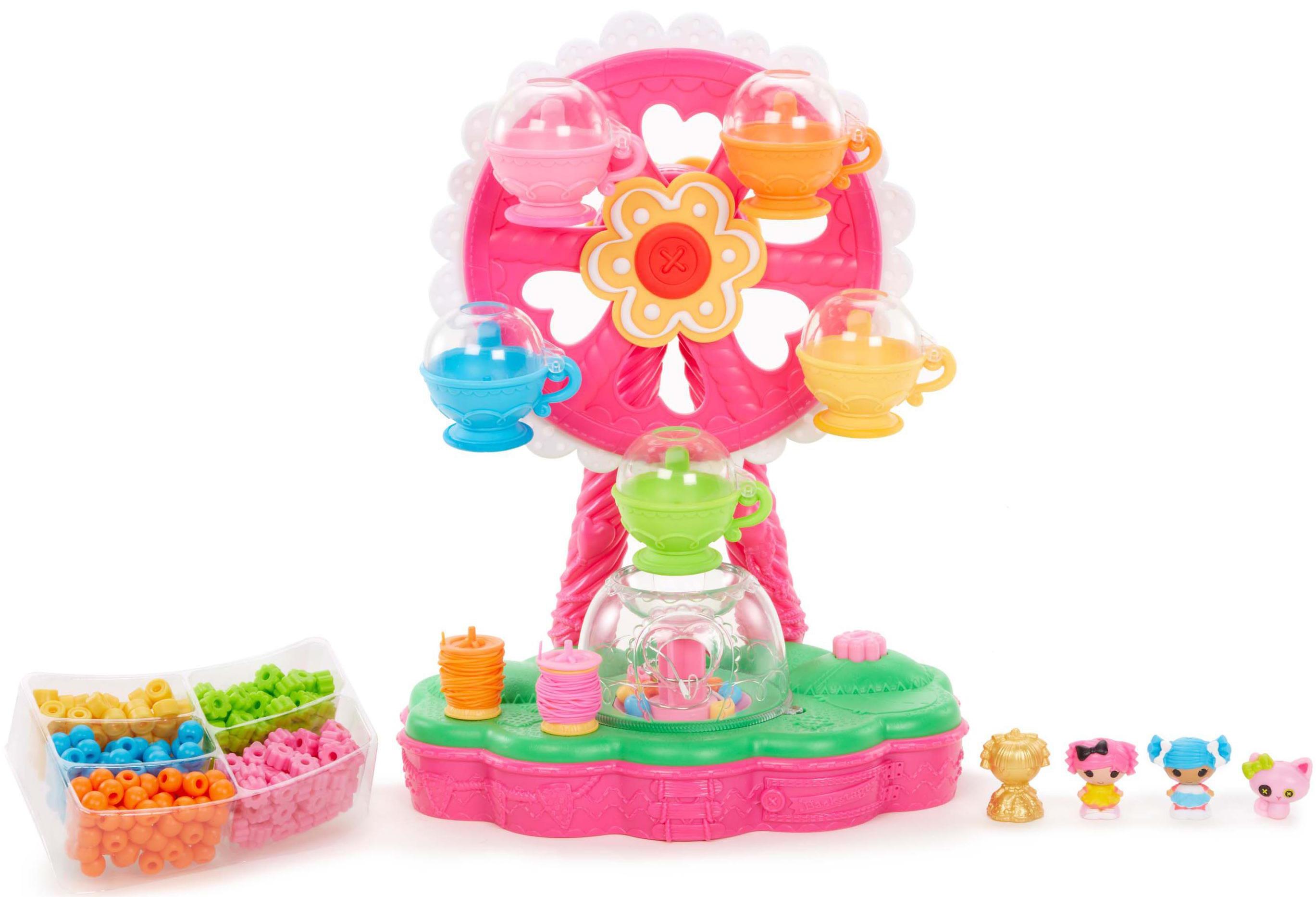Купить Игровой набор, Карусель Лалалупси для создания украшений из бусинок, 1шт., Lalaloopsy 537809, Китай, Мультиколор, Женский