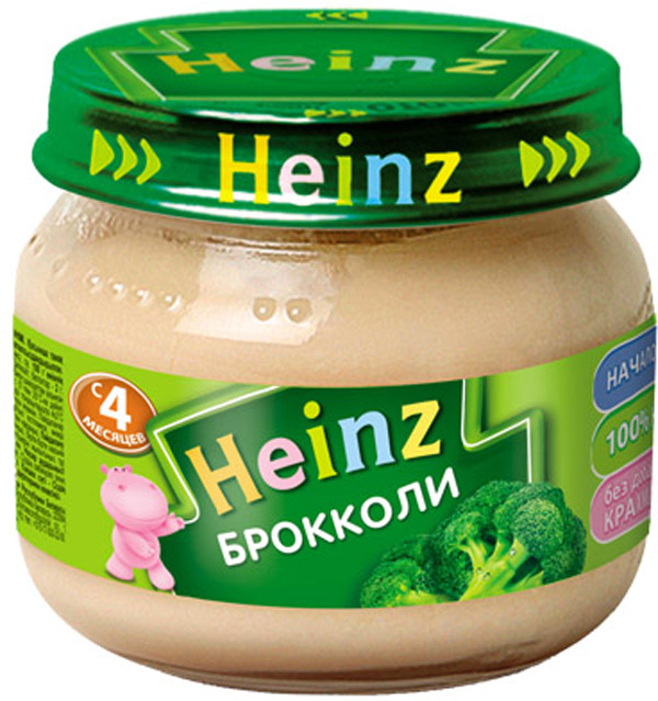 Овощное Heinz Heinz Брокколи (с 4 месяцев) 80 г karl heinz bohle dresden in farbe