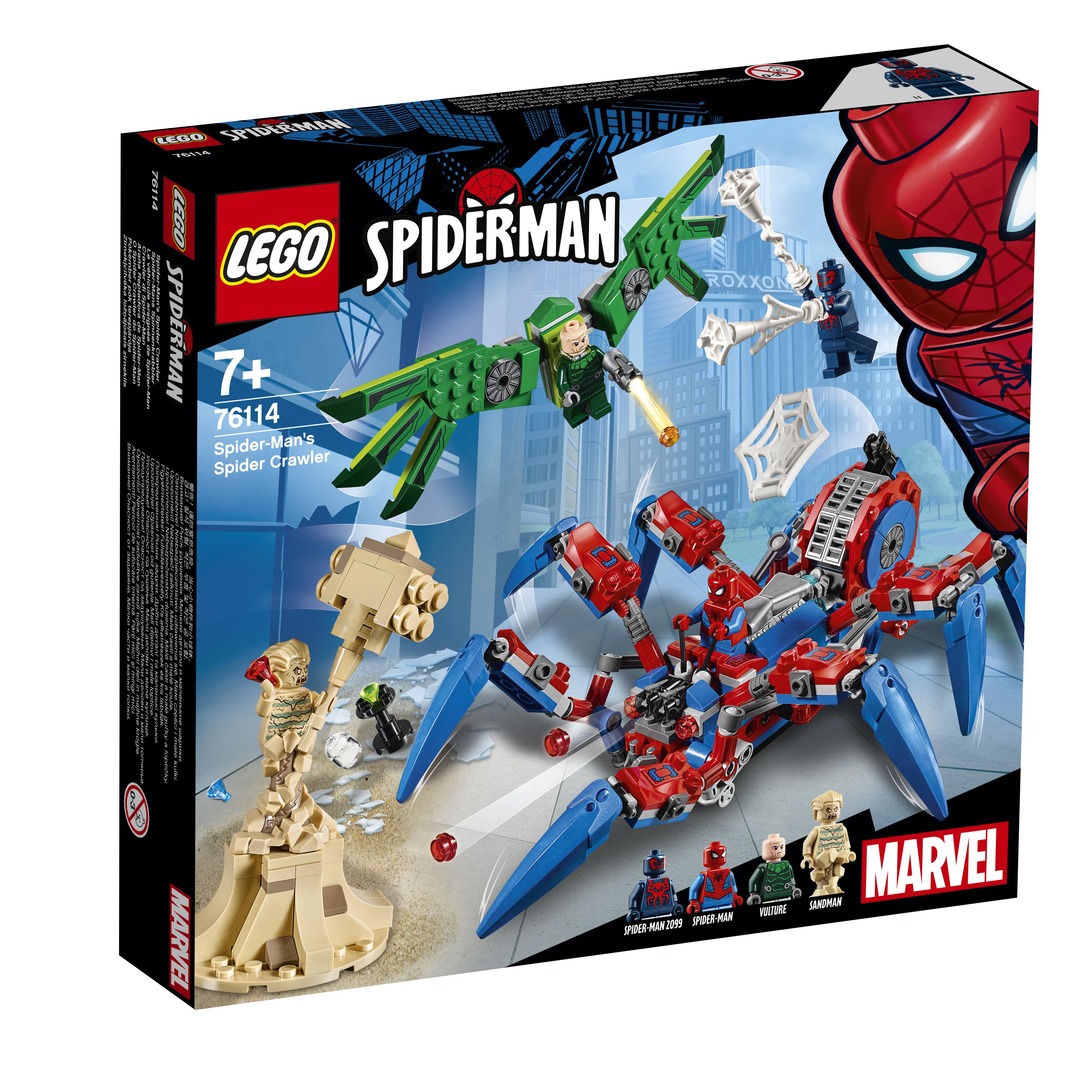 все цены на Конструктор LEGO Super Heroes 76114 Паучий вездеход