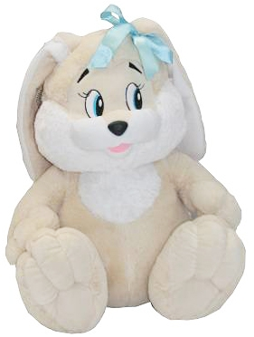 Мягкая игрушка СмолТойс Зайчик 45 см цена и фото