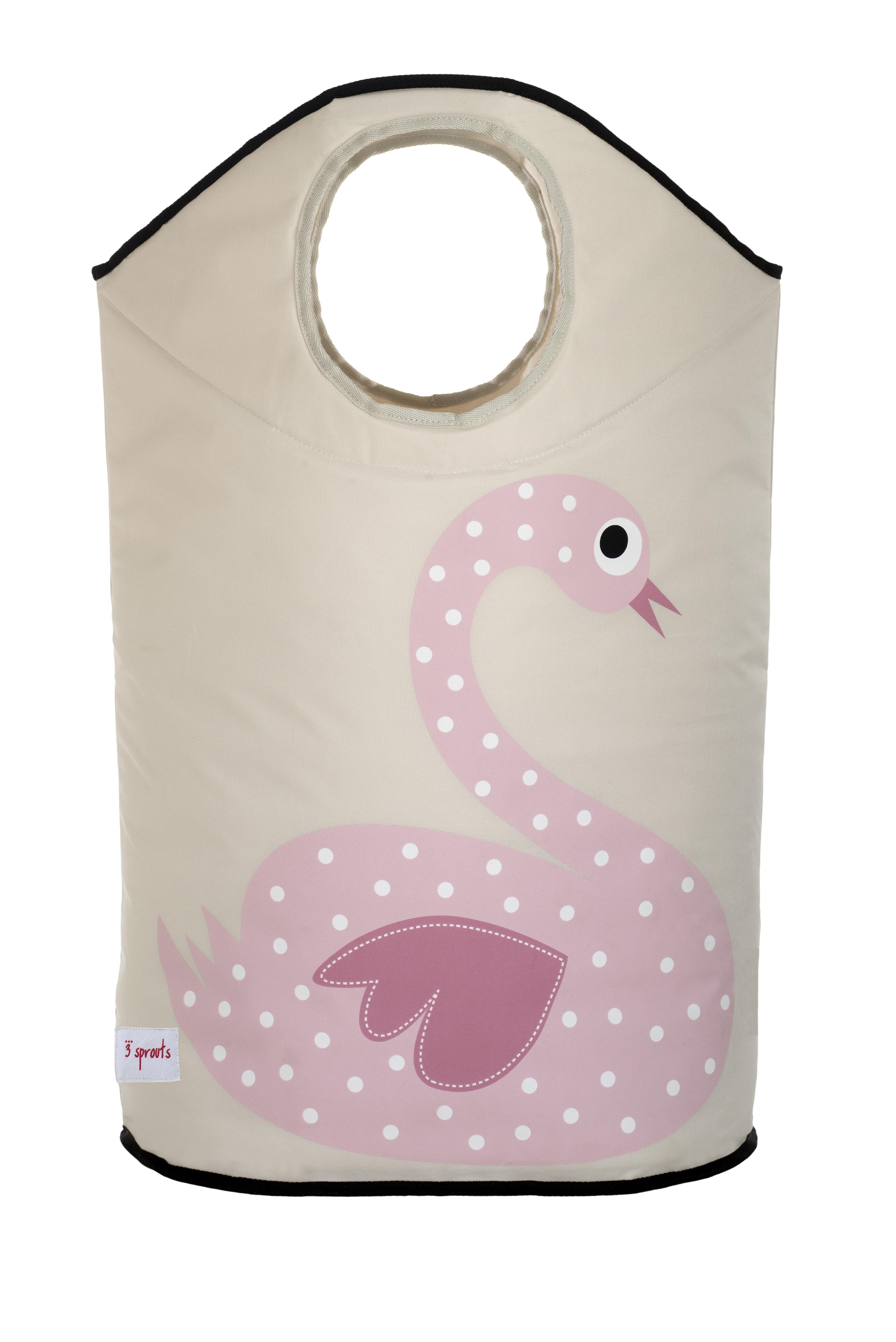 Ящики и корзины для игрушек 3 Sprouts Pink Swan