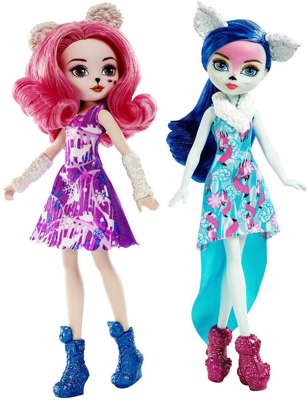 Фото - Кукла Mattel Заколдованная зима mattel ever after high пикси featherly пушинка dhf98