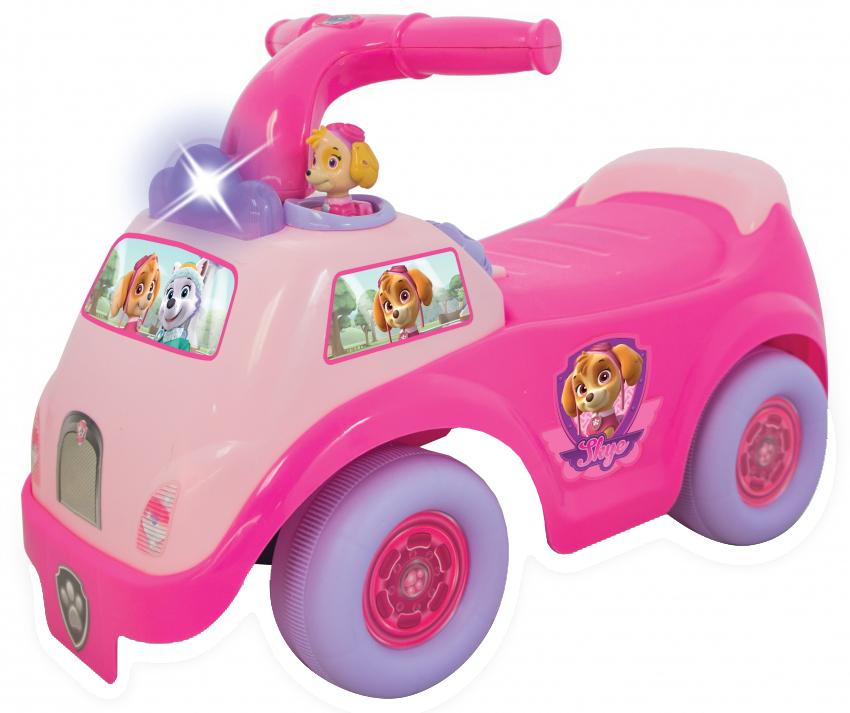 Купить со скидкой Каталка-пушкар Kiddieland «Гонщик-спасатель» розовая