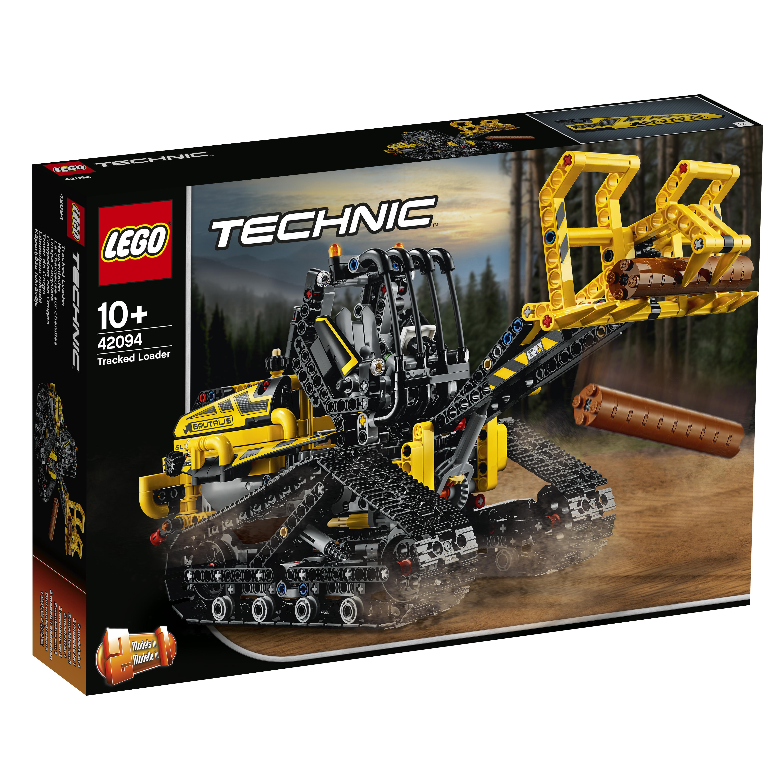все цены на Конструктор LEGO Technic 42094 Гусеничный погрузчик онлайн