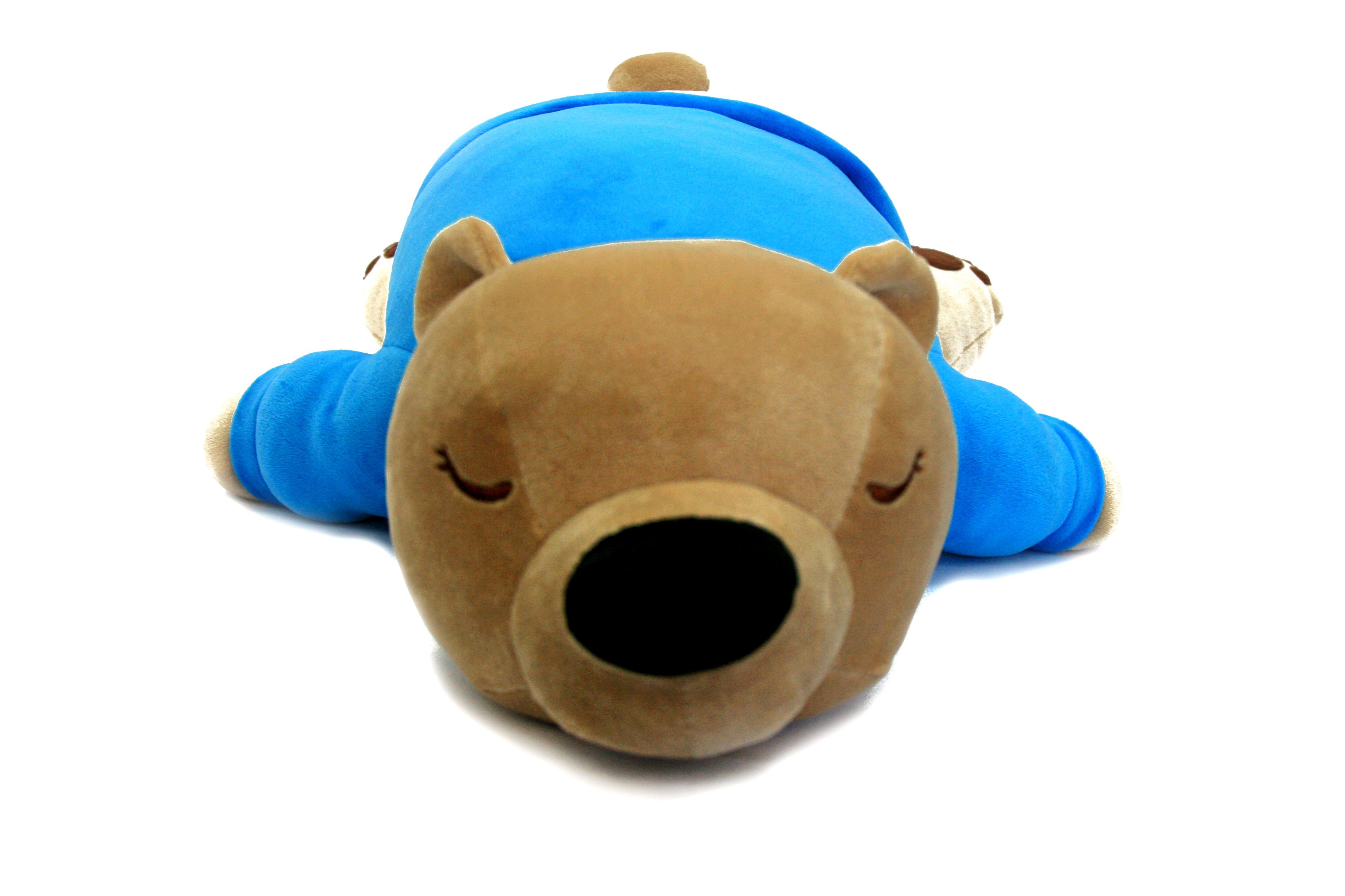 Мягкие игрушки СмолТойс Мягкая игрушка СмолТойс «Медвежонок Лежебока» 57 см мягкая игрушка смолтойс зайка радужный 51 см