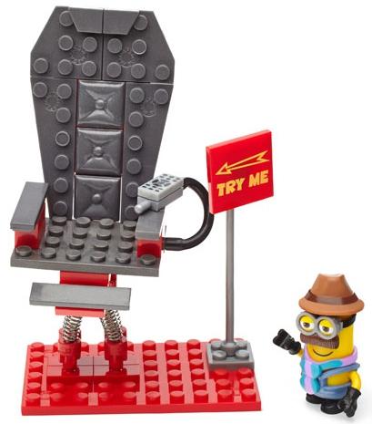 Конструкторы для малышей Mega Bloks Конструктор Mega Blocks «Гадкий я: Происшествие в почтовом отделении» конструкторы для малышей mega bloks гадкий я миньоны