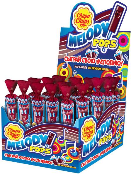 цена на Карамель Chupa Chups Chupa Chups Мелоди Попс кола 15 г
