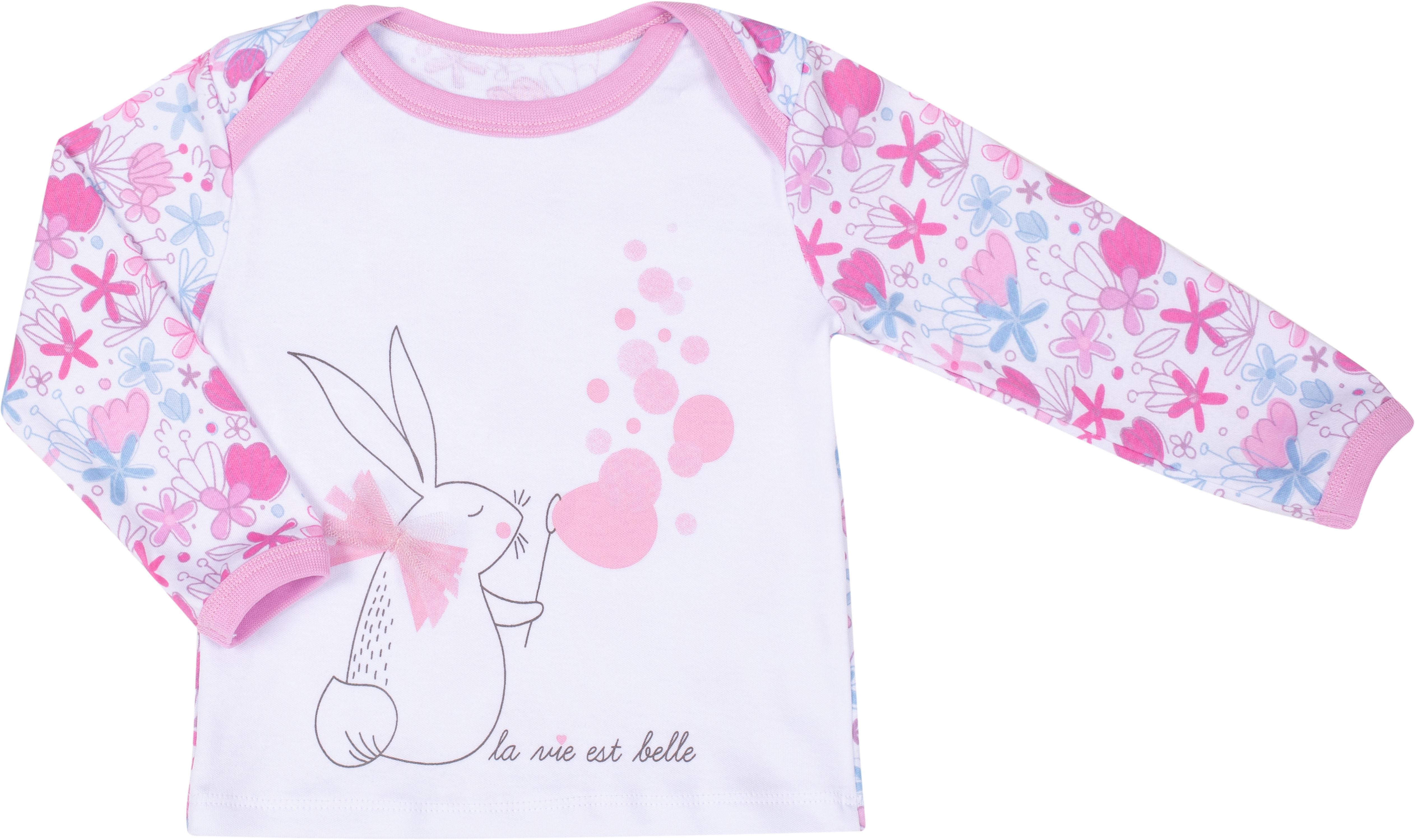 Комплект: футболка и ползунки Barkito Мыльные пузыри W18G0231U