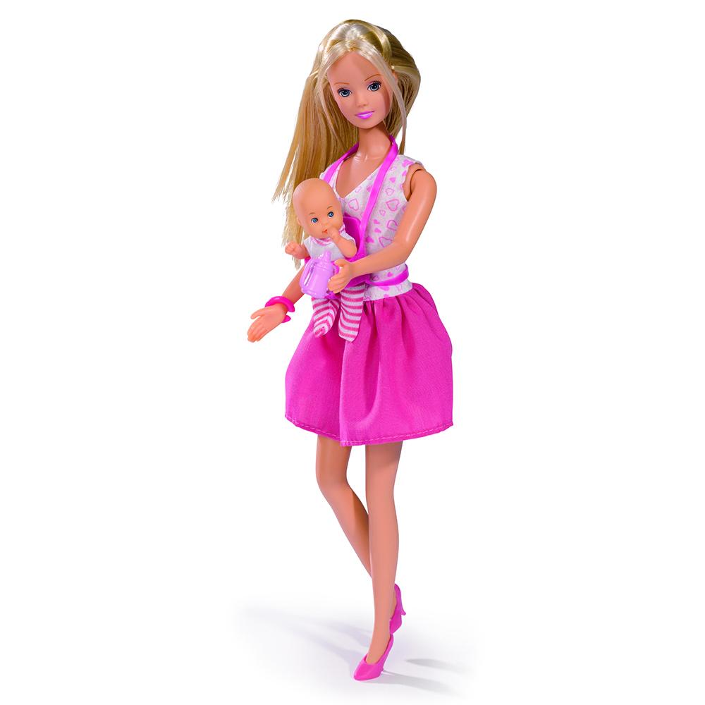 Купить Кукла, Штеффи с коляской, 1шт., simba 5738060, Китай, в ассортименте, Женский