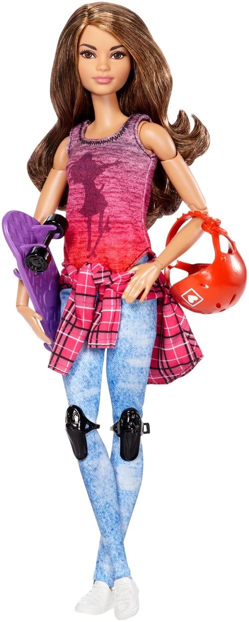 Barbie Barbie Куклы-спортсментки Безграничные движения barbie кукла безграничные движения цвет одежды розовый
