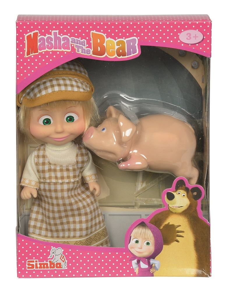 Кукла simba Маша с друзьями-животными цена