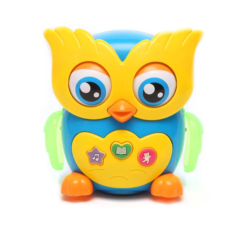 Развивающая игрушка Азбукварик Музыкальная сова азбукварик электронная музыкальная игрушка курочка ряба