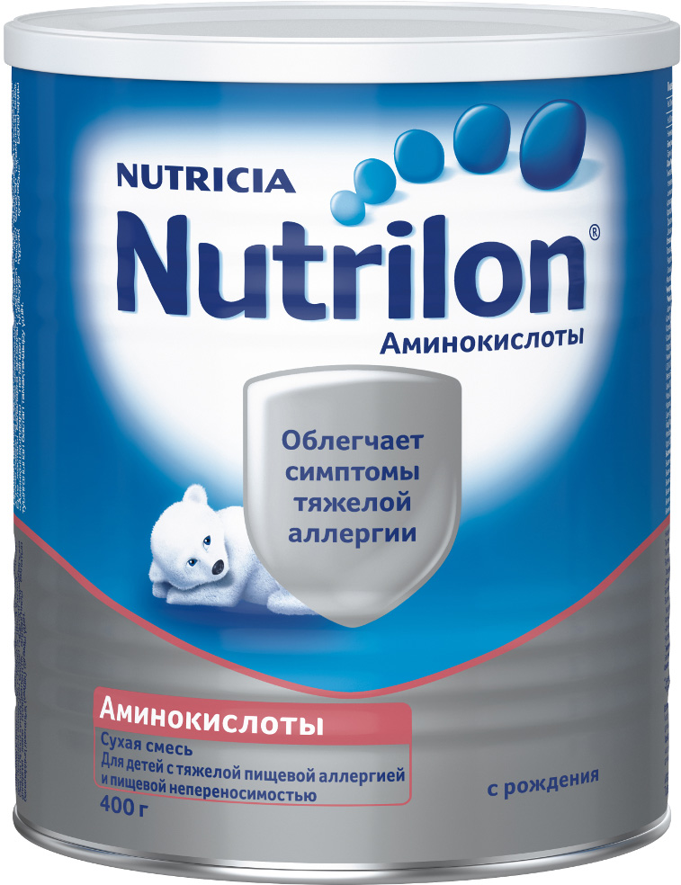 Сухие Nutrilon Молочная смесь Nutrilon Аминокислоты с рождения 400 г аминокислоты sportline nutrition аминокислоты bcaa 2 1 1 bag 300g kiwi