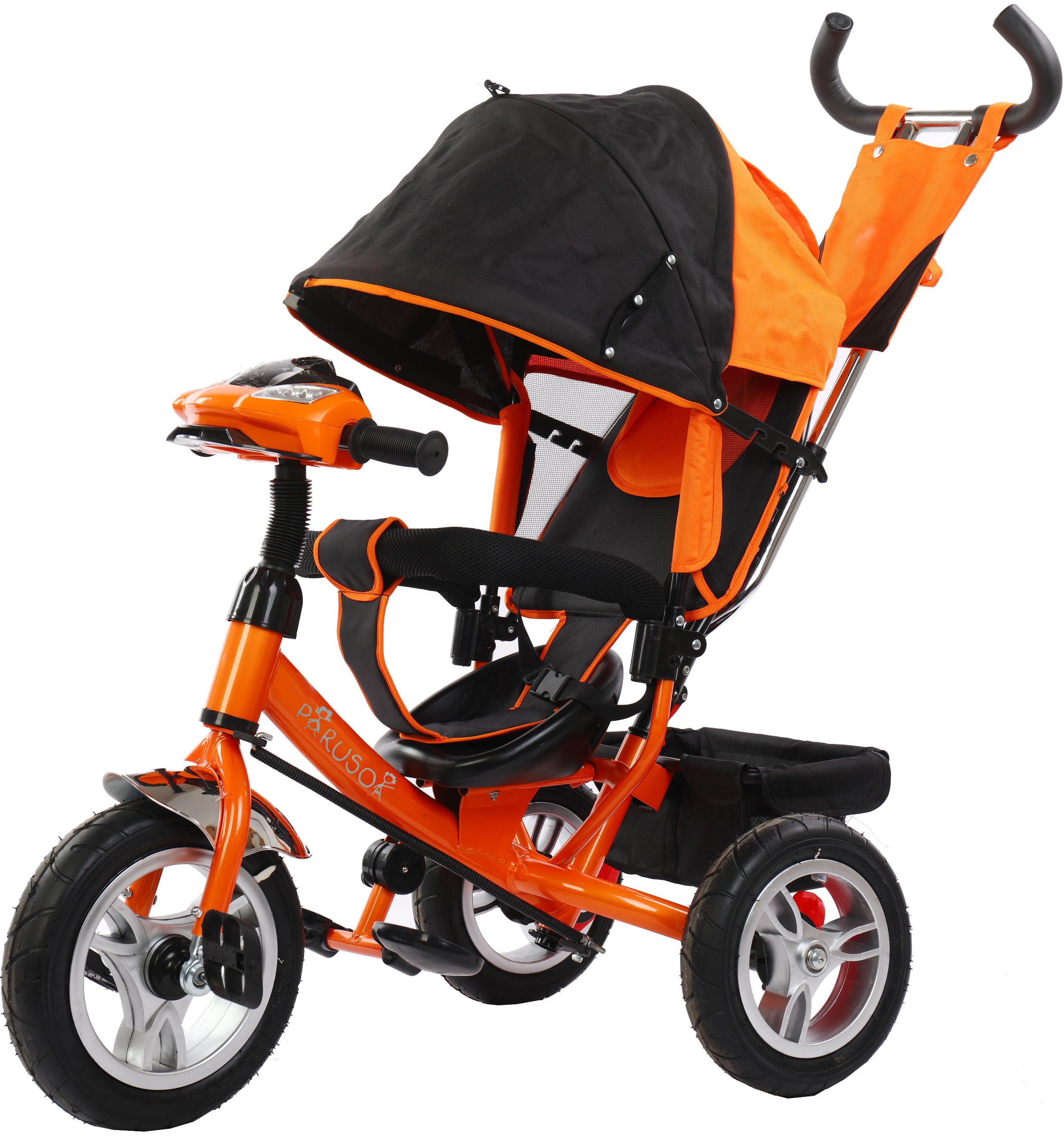 Детские трехколесные велосипеды Parusok YLT6588-B_ORANGE