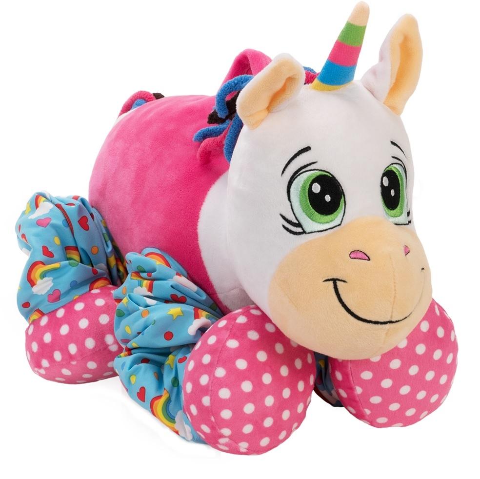 Мягкие игрушки Пружиножка Единорог со звуком подвесные игрушки roxy тигренок гигл со звуком