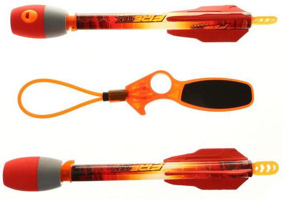Другое оружие и боеприпасы Zing с подсветкой 2 шт с пусковым устройством игрушка ракеты с подсветкой 2 шт с пусковым устройством zing