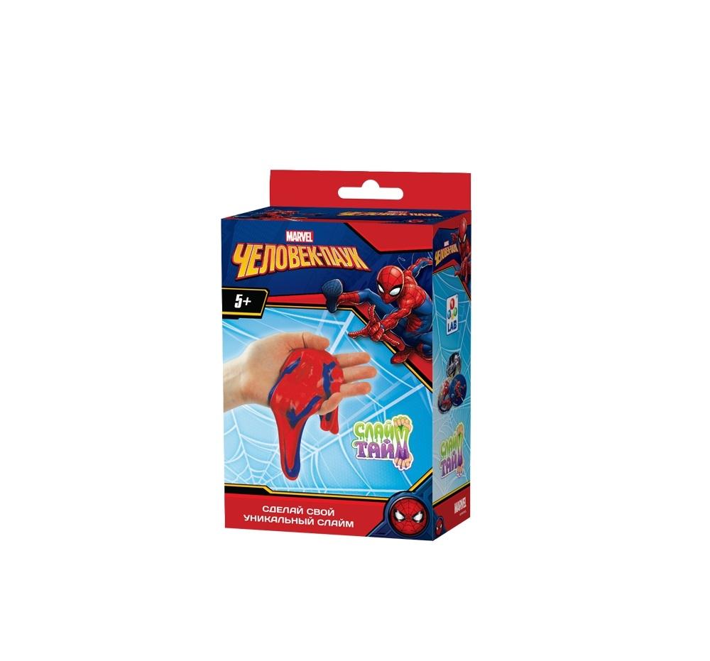Набор для изготовления слайма 1toy человек-паук набор для изготовления слайма 1toy слайм тайм человек паук т14293 красный