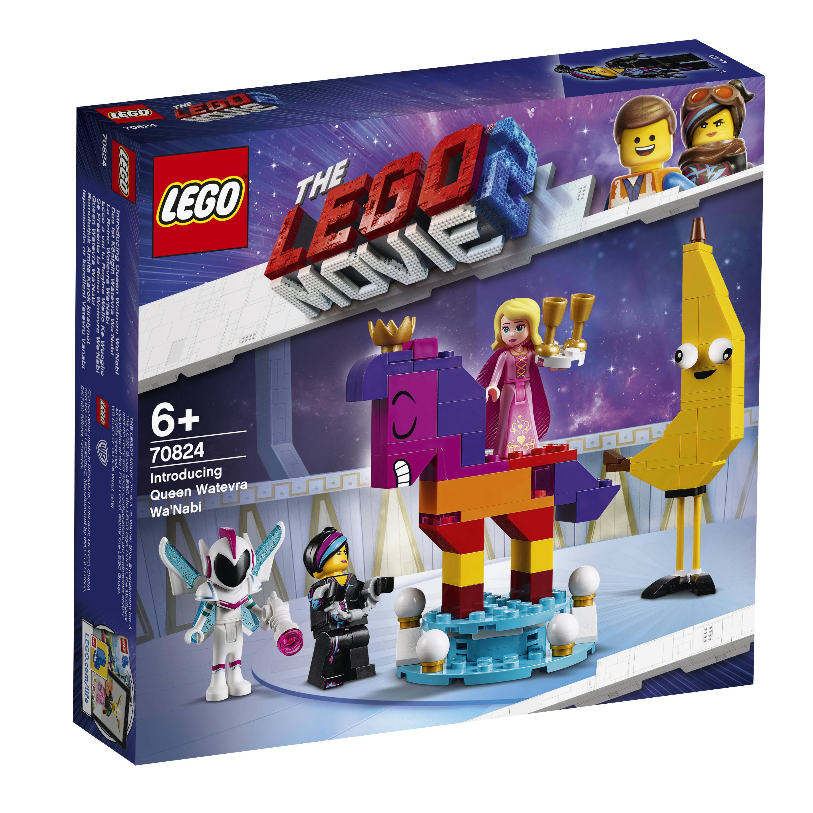 Конструктор LEGO Movie 70824 Познакомьтесь с королевой Многоликой Прекрасной все цены