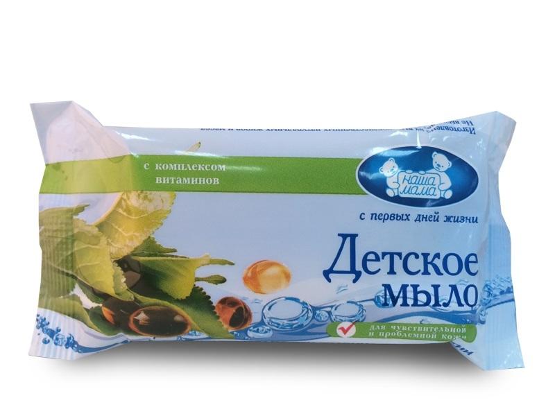 Мыло Наша Мама «Комплекс витаминов» 90 г бытовая химия sandokkaebi хозяйственное мыло для стирки отбеливающее 230 г