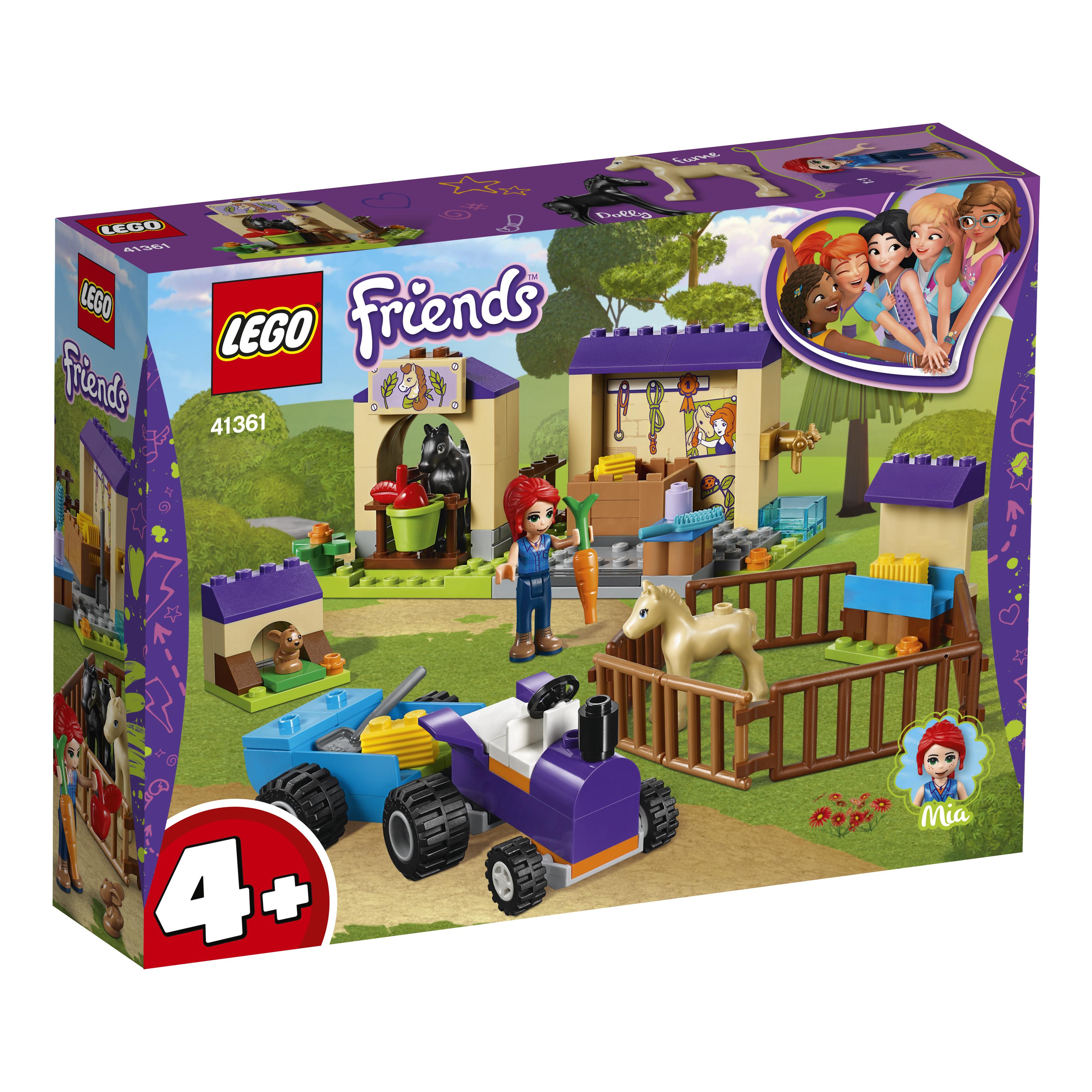 Купить LEGO, Конюшня для жеребят Мии, Китай, разноцветный, Женский