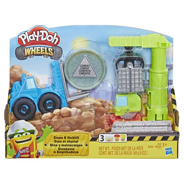 Игровой набор пластилина Play-Doh Кран-Погрузчик игровой набор для лепки play doh ведерочко геометрические фигуры