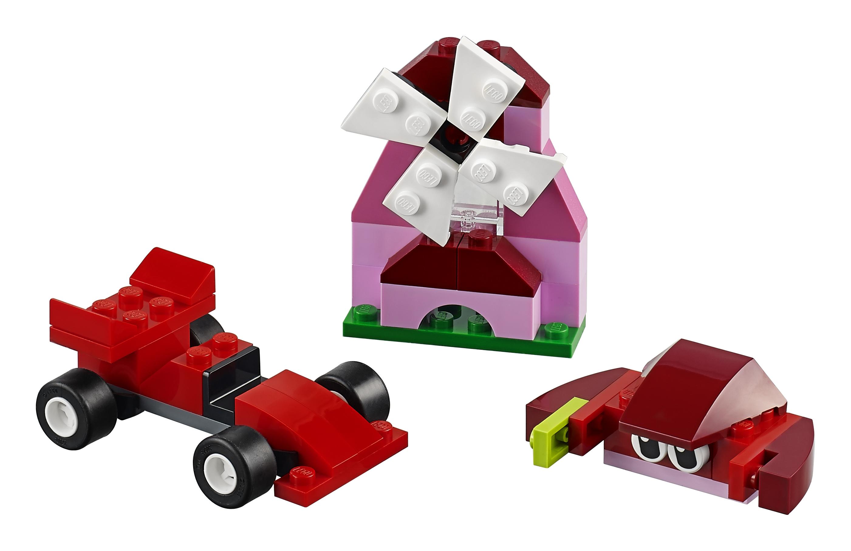 Конструктор LEGO Classic 10707 Красный набор для творчества classic 10692 набор для творчества