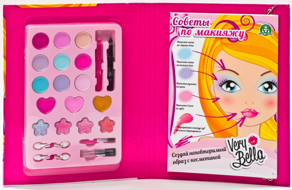 Набор декоративной косметики Very Bella Книга по макияжу