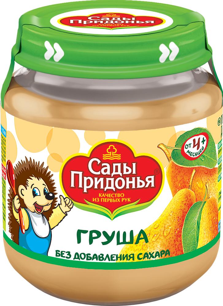 купить Пюре Сады придонья Придонья Груша с 4 мес. 120 г по цене 29.9 рублей