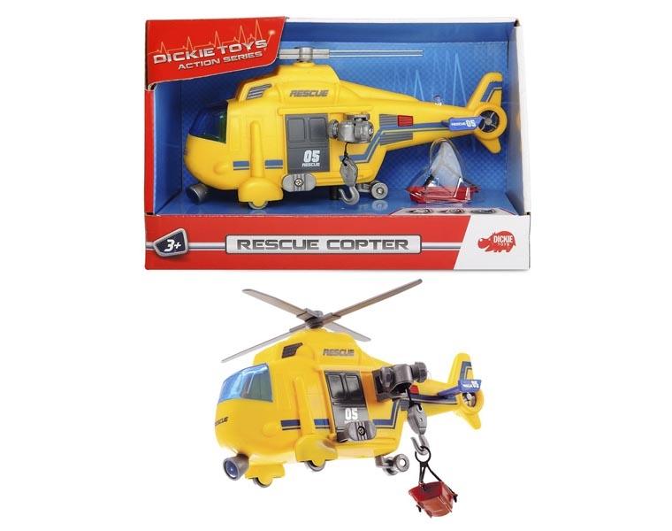 Вертолет DICKIE спасательный 18 см 3302003 радиоуправляемые игрушки dickie