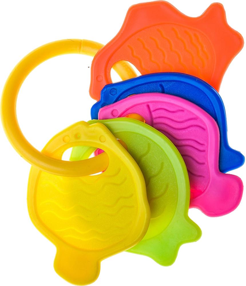 Погремушка Курносики Ловись, рыбка игрушка для ванны курносики куколка аленка